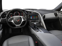 2018 Chevrolet Corvette Convertible Stingray Z51 2LT | Photo 2 | Grey Competition Sport buckets Leather seating surfaces with sueded microfiber inserts (144-AE4)