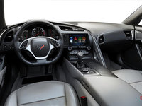 2018 Chevrolet Corvette Coupe Grand Sport 2LT | Photo 3 | Grey GT buckets Leather seating surfaces with sueded microfiber inserts (144-AQ9)