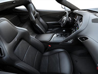 2018 Chevrolet Corvette Coupe Grand Sport 2LT | Photo 1 | Jet Black GT buckets Leather seating surfaces with sueded microfiber inserts (194-AQ9)
