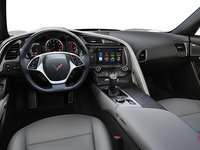 2018 Chevrolet Corvette Coupe Grand Sport 3LT | Photo 3 | Grey Competition Sport buckets Perforated Mulan leather seating surfaces (145-AE4)
