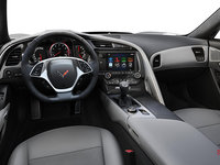 2018 Chevrolet Corvette Coupe Grand Sport 3LT | Photo 3 | Grey Competition Sport buckets Leather seating surfaces with sueded microfiber inserts (146-AE4)