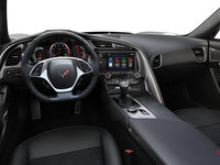 2018 Chevrolet Corvette Coupe Grand Sport 3LT | Photo 3 | Jet Black Competition Sport buckets Leather seating surfaces with sueded microfiber inserts (196-AE4)