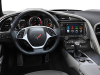 2018 Chevrolet Corvette Coupe Grand Sport 3LT | Photo 2 | Grey Competition Sport buckets Perforated Mulan leather seating surfaces (145-AE4)