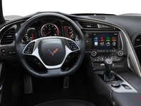 2018 Chevrolet Corvette Coupe Grand Sport 3LT | Photo 2 | Jet Black Competition Sport buckets Perforated Mulan leather seating surfaces (195-AE4)