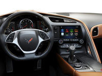 2018 Chevrolet Corvette Coupe Grand Sport 3LT | Photo 2 | Kalahari GT buckets Perforated Napa leather seating surfaces (345-AQ9)