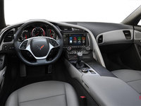 2018 Chevrolet Corvette Coupe Stingray Z51 2LT | Photo 2 | Grey Competition Sport buckets Perforated Mulan leather seating surfaces (143-AE4)