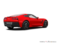 2018 Chevrolet Corvette Coupe Stingray Z51 3LT | Photo 2 | Torch Red