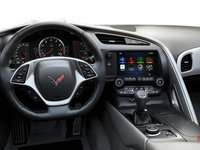 2018 Chevrolet Corvette Coupe Stingray Z51 3LT | Photo 3 | Grey GT buckets Leather seating surfaces with sueded microfiber inserts (146-AQ9)