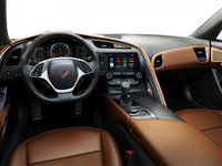2018 Chevrolet Corvette Coupe Stingray Z51 3LT | Photo 2 | Kalahari GT buckets Leather seating surfaces with sueded microfiber inserts (346-AQ9)