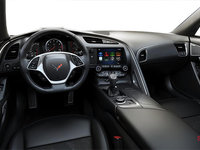 2018 Chevrolet Corvette Coupe Stingray Z51 3LT | Photo 2 | Jet Black GT buckets Leather seating surfaces with sueded microfiber inserts (198-AQ9)