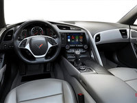 2018 Chevrolet Corvette Coupe Stingray Z51 3LT | Photo 2 | Grey GT buckets Perforated Napa leather seating surfaces (145-AQ9)