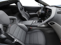 2018 Chevrolet Corvette Coupe Stingray Z51 3LT | Photo 1 | Grey Competition Sport buckets Leather seating surfaces with sueded microfiber inserts (146-AE4)