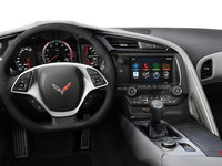 2018 Chevrolet Corvette Coupe Stingray Z51 3LT | Photo 3 | Grey Competition Sport buckets Leather seating surfaces with sueded microfiber inserts (146-AE4)