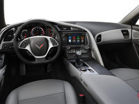 2018 Chevrolet Corvette Coupe Stingray Z51 3LT | Photo 2 | Grey Competition Sport buckets Leather seating surfaces with sueded microfiber inserts (146-AE4)