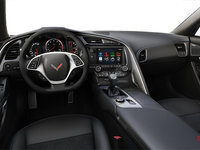 2018 Chevrolet Corvette Coupe Stingray Z51 3LT | Photo 2 | Jet Black Competition Sport buckets Leather seating surfaces with sueded microfiber inserts (196-AE4)