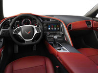 2018 Chevrolet Corvette Coupe Stingray Z51 3LT | Photo 2 | Adrenaline Red Competition Sport buckets Leather seating surfaces with sueded microfiber inserts (706-AE4)