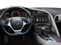2018 Chevrolet Corvette Coupe Stingray Z51 3LT | Photo 3 | Grey Competition Sport buckets Perforated Mulan leather seating surfaces (145-AE4)