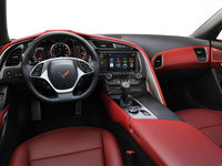 2018 Chevrolet Corvette Coupe Stingray Z51 3LT | Photo 2 | Adrenaline Red Competition Sport buckets Perforated Mulan leather seating surfaces (705-AE4)