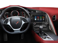 2018 Chevrolet Corvette Coupe Stingray Z51 3LT | Photo 3 | Spice Red Competition Sport buckets Perforated Mulan leather seating surfaces (755-AE4)