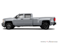 2018 Chevrolet Silverado 3500 HD WT | Photo 1 | Silver Ice Metallic