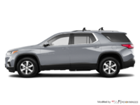 2018 Chevrolet Traverse LT TRUE NORTH | Photo 1 | Silver Ice Metallic
