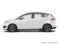 2018 Ford C-MAX HYBRID TITANIUM | Photo 1 | White Platinum Metallic Tri-Coat