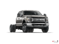 2018 Ford Chassis Cab F-350 XLT | Photo 3 | Stone Gray