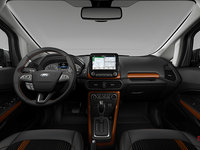 2018 Ford Ecosport SES | Photo 3 | Ebony Black Partial Leather/Cloth