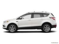 2018 Ford Escape TITANIUM | Photo 1 | White Platinum Metallic