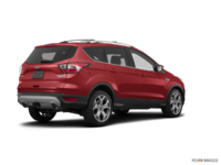 2018 Ford Escape TITANIUM | Photo 2 | Ruby Red Metalic Tinted