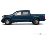 2018 Ford F-150 PLATINUM | Photo 1 | Blue Jeans Metallic