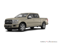 2018 Ford F-150 PLATINUM | Photo 3 | White Gold