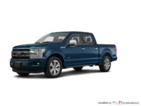 2018 Ford F-150 PLATINUM | Photo 3 | Blue Jeans Metallic