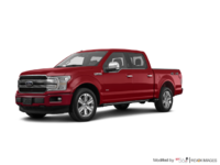 2018 Ford F-150 PLATINUM | Photo 3 | Ruby Red Metallic
