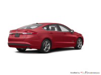 2018 Ford Fusion Hybrid SE | Photo 2 | Ruby Red
