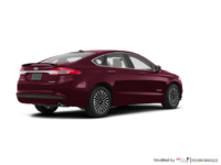 2018 Ford Fusion Hybrid TITANIUM | Photo 2 | Burgundy Velvet