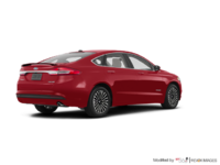 2018 Ford Fusion Hybrid TITANIUM | Photo 2 | Ruby Red