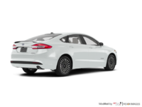 2018 Ford Fusion Hybrid TITANIUM | Photo 2 | White Platinum