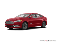 2018 Ford Fusion Hybrid TITANIUM | Photo 3 | Ruby Red