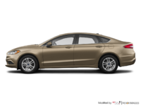 2018 Ford Fusion S | Photo 1 | White Gold