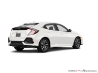 2018 Honda Civic hatchback LX | Photo 2 | White Orchid Pearl