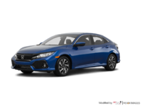 2018 Honda Civic hatchback LX | Photo 3 | Aegean Blue Metallic