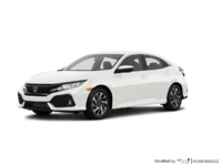 2018 Honda Civic hatchback LX | Photo 3 | White Orchid Pearl