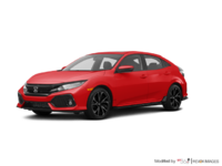 2018 Honda Civic hatchback SPORT TOURING | Photo 3 | Rallye Red