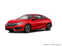 2018 Honda Civic Coupe EX-T | Photo 3 | Rallye Red