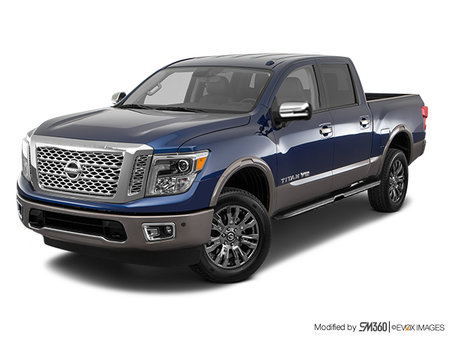 Nissan Titan PLATINUM RESERVE 2019 - photo 1