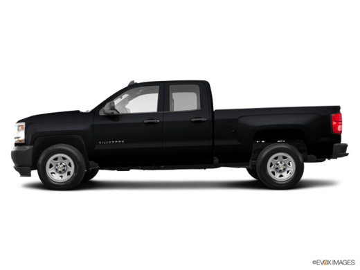CHEVY TRUCKS SILVERADO 1500 DOUBLE 4X4 1CX 2018
