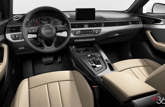 new 2018 audi a4 sedan komfort near toronto 41 285. Black Bedroom Furniture Sets. Home Design Ideas