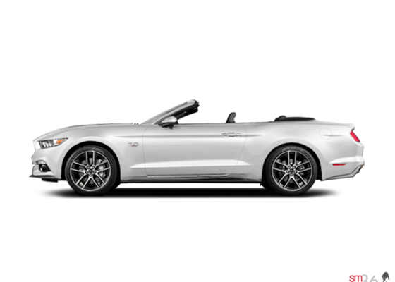 Ford Mustang cabriolet GT haut de gamme 2016