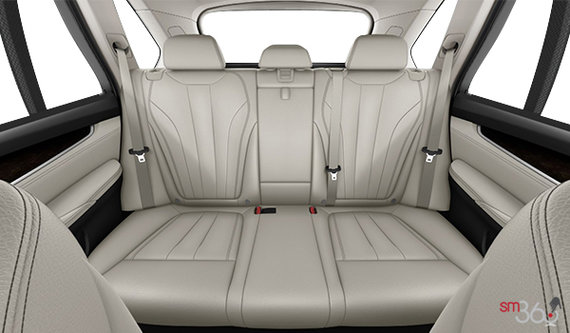 Ivory White Dakota Leather w/Black Interior